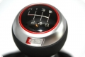 OEM Audi A3 S3 8P Leather Sport Gear Knob Shift 6 Gear